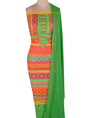 Suit From Gujarat In Multi color With Embroidery - PKGS18SP20