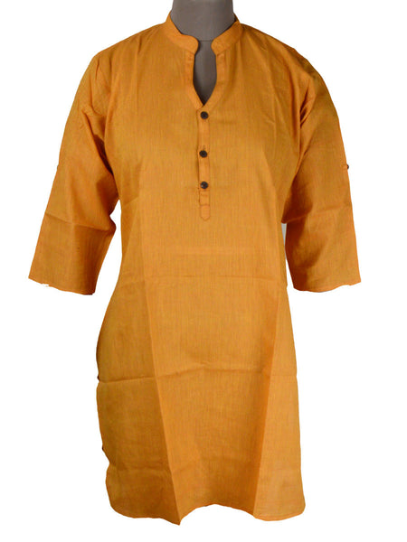 Kurti From Madhya Pradesh In Brown - PKMSK26AR8