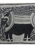 Hand Made Elephant In Medni Forest Painting From Mithilanchal - MH-HDP19SP25