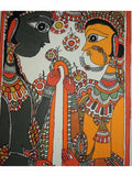 Hand Made Lord Ram Sita Swayamvar Painting From Mithilanchal - MH-HDP19SP6