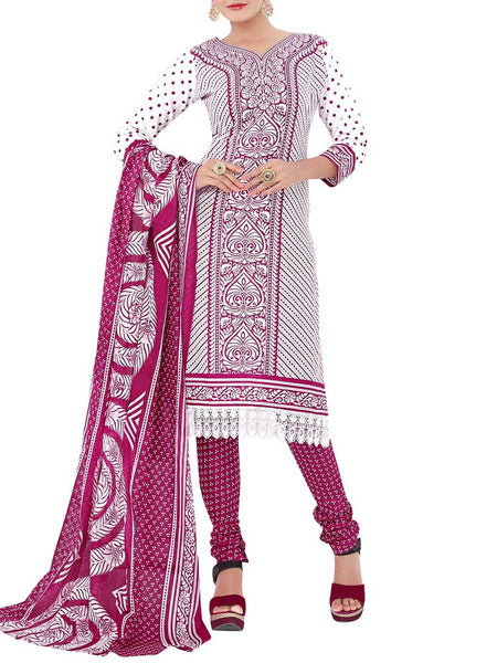 Cotton Suit From Kolkata In MultiColour - FPKWA18MA39