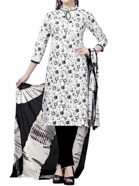 Cotton Suit From Kolkata In White - FPKWA9AG112