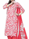 Cotton Suit From Kolkata In Pink - FPKWA9AG117