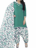 Cotton Suit From Kolkata In Green - FPKWA9AG125