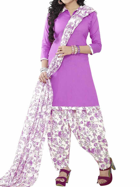Cotton Suit From Kolkata In Pink - FPKWA9AG126
