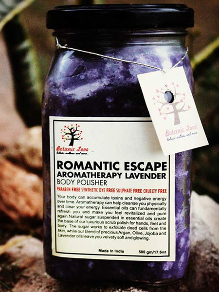 ROMANTIC ESCAPE AROMATHERAPY LAVENDER BODY POLISHER - PCBLBW29OT1