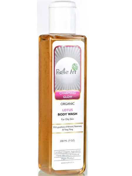 Organic  Lotus Body Wash - RA-OP26AG12