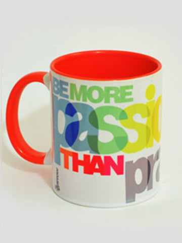 Be Passionate Mug From Rajkot In Orange - SO-DKC25AP13