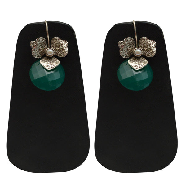 Earrings From Rajasthan In Silver - CJRE9JU11