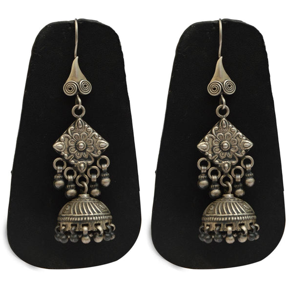 Earrings From Rajasthan In Silver - CJRE9JU17