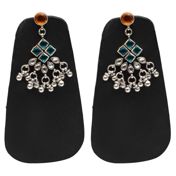 Earrings From Rajasthan In Silver - CJRE9JU10