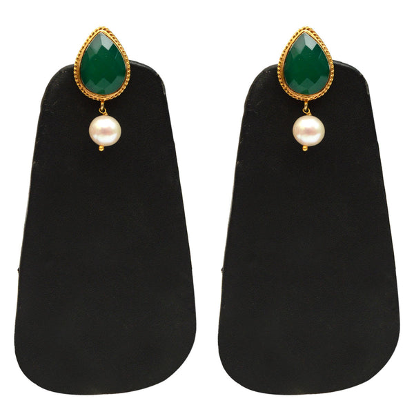 Earrings From Rajasthan In Gold Plated - CJRE9JU9