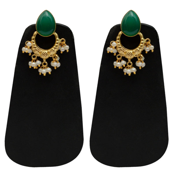 Earrings From Rajasthan In Gold Plated - CJRE9JU6