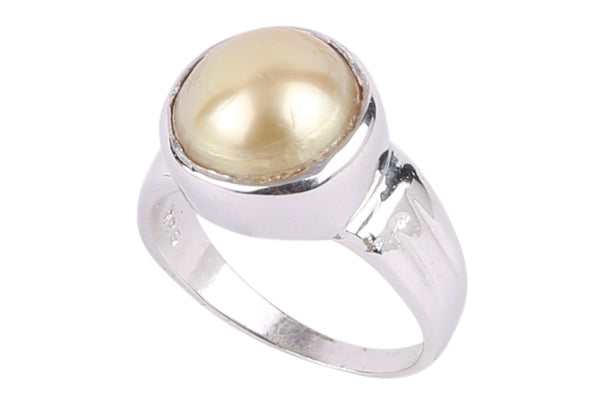 Pearl Finger Ring -Size 19 - CHTE18SP4