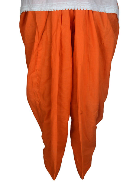 Patiala Salwar In Orange-CPPS12MH7