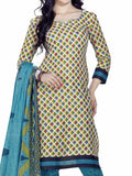 Cotton Suit From Kolkata In Multicolour - FPKWA9AG169