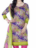 Cotton Suit From Kolkata In Multicolour - FPKWA9AG175