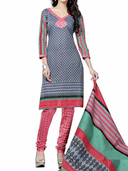 Cotton Suit From Kolkata In Multicolour - FPKWA9AG180