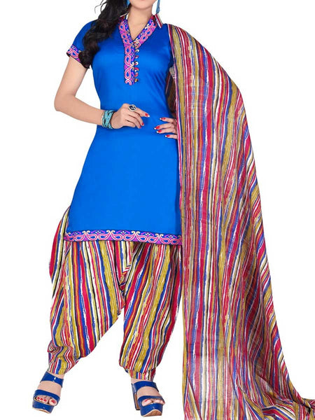 Cotton Suit From Kolkata In MultiColour - FPKWA18MA112
