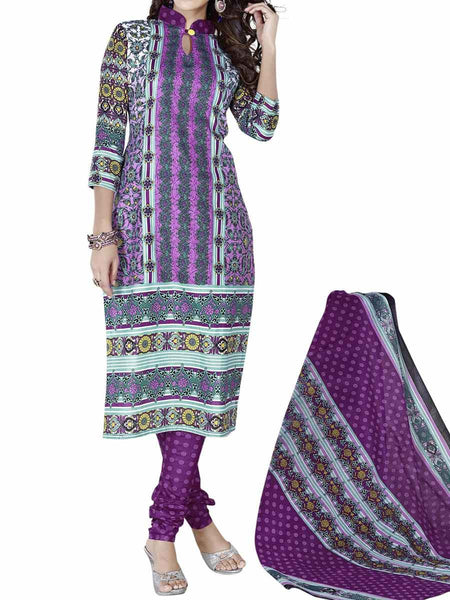 Cotton Suit From Kolkata In Multicolour - FPKWA9AG186