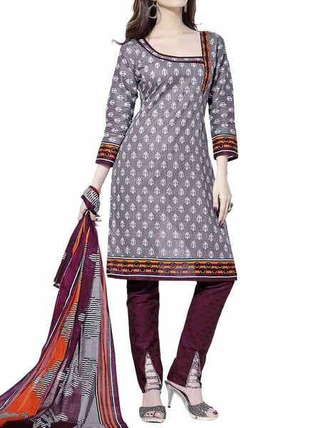 Cotton Suit From Kolkata In Multicolour - FPKWA9AG194