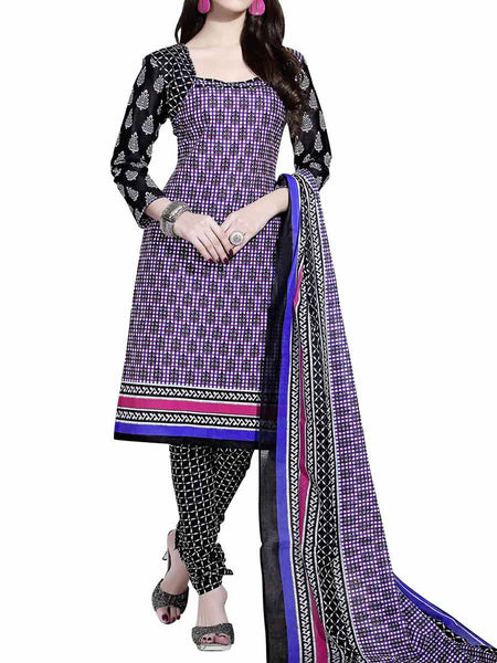 Cotton Suit From Kolkata In Purple - FPKWA9AG204