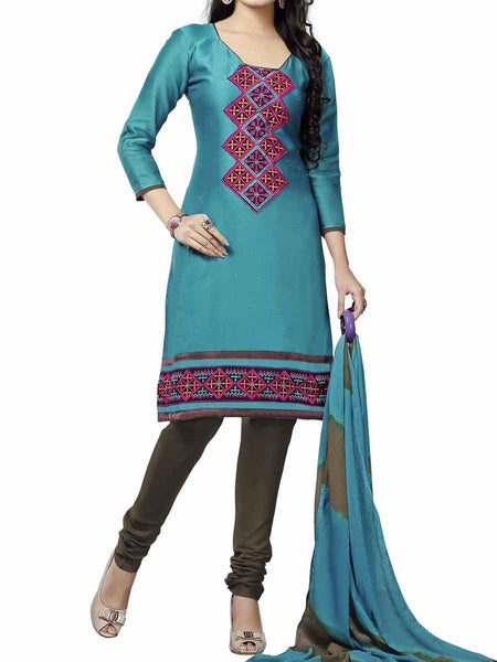 Cotton Suit From Kolkata In Green - FPKWA9AG212