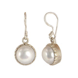 Pearl Hanging Earrings - CHTE25AG152