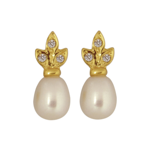 Pearl Earrings - CHTE25AG141