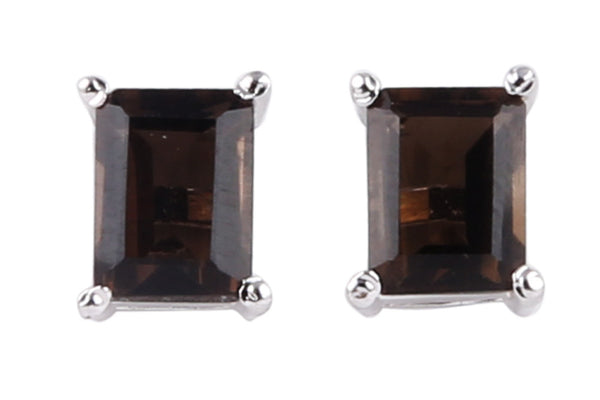 Stone Stud Earrings - CHTE25AG196