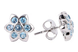 Stone Stud Earrings - CHTE25AG193