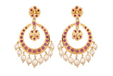 Pearl Chand Baali Earrings - CHTE25AG167