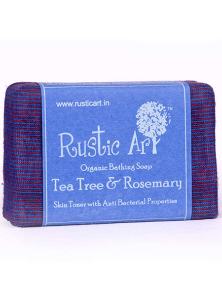 Organic  Tea Tree and Rose Mary Soap - RA-OP26AG35