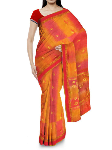Kota Doria Handloom Saree From Kota In Multicolor - IW-PKRSA2AG5