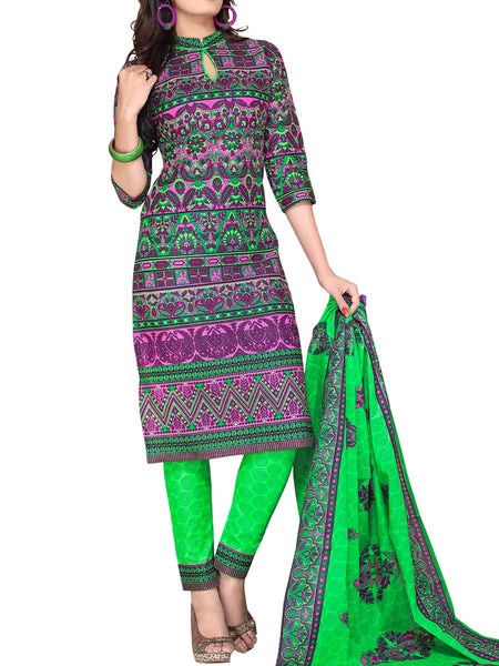 Cotton Suit From Kolkata In MultiColour - FPKWA16JN135