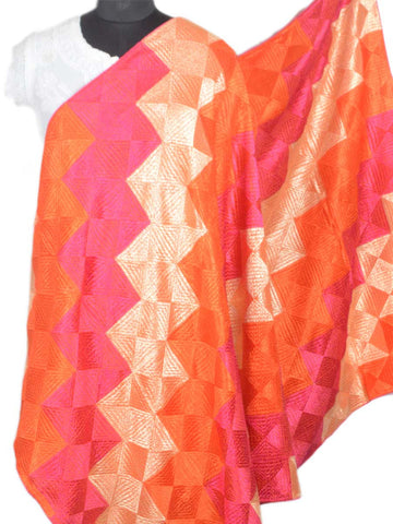 Bagh Phulkari Dupatta In Multicolour - VP-CPD26SP10