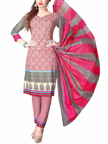 Cotton Suit From Kolkata In MultiColour - FPKWA16JN149