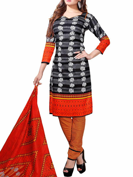 Cotton Suit From Kolkata In MultiColour - FPKWA16JN157