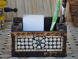 Wooden Jewelled Multipurpose Pen Stand-EC-HJRWE23FB16