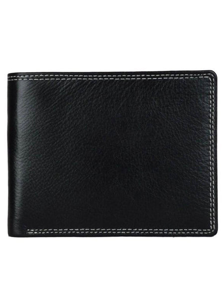 Kanpur Leather Wallet In Brown-CKMW25MR6