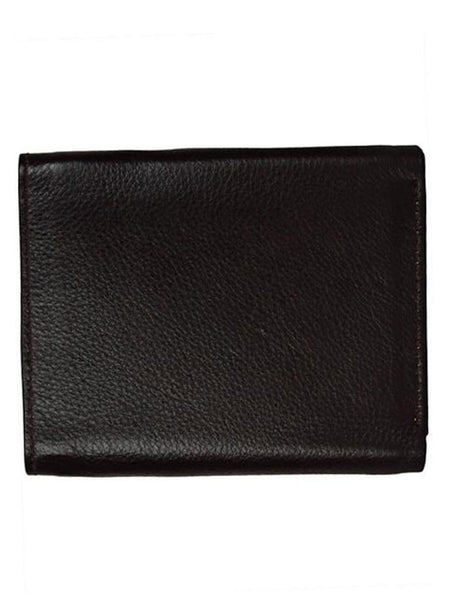 Kanpur Leather Wallet In Brown-CKMW25MR13
