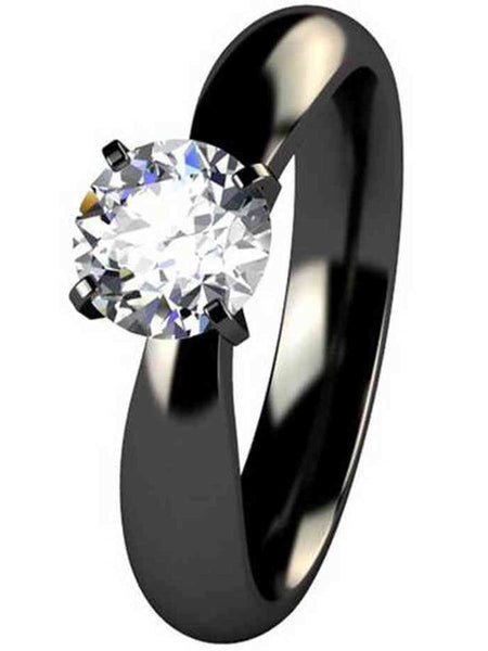92.5 sterling silver ring made with swarovski Zirconia - ZI-CHUJR29MH119