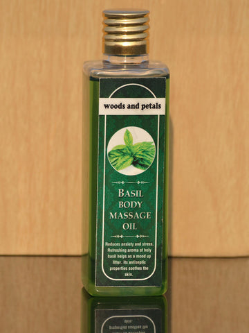 Basil Body Massage oil - WAPBO18JN5