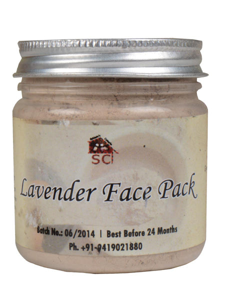 Lavender Face Pack From Kashmir - SCPF18DC11