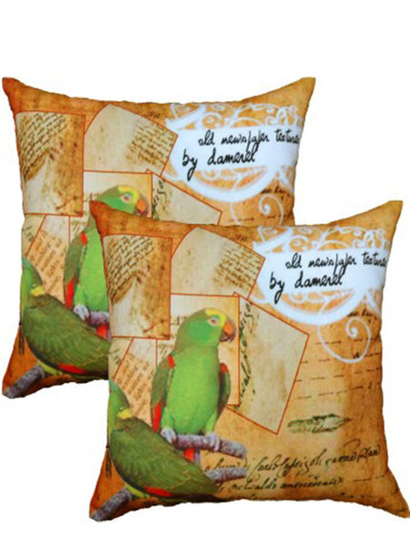 Pack Of 2 Abstract Cushions Cover In Multicolor - DKCC25AP30