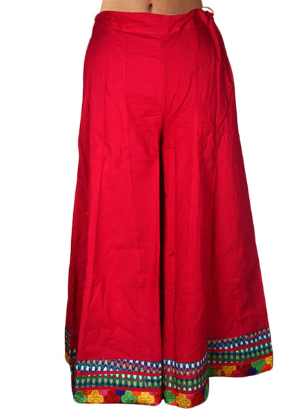 Divided Skirt From Jaipur In Pink Color - DRKPS18FB18