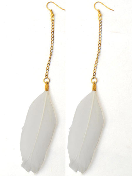 Earrings From Moradabad In White - CHUJE28SP49
