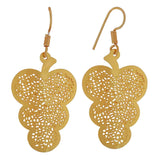 Sexy Gold Filigree Friend's Party Dangler Earrings - MCHUJE3DC944