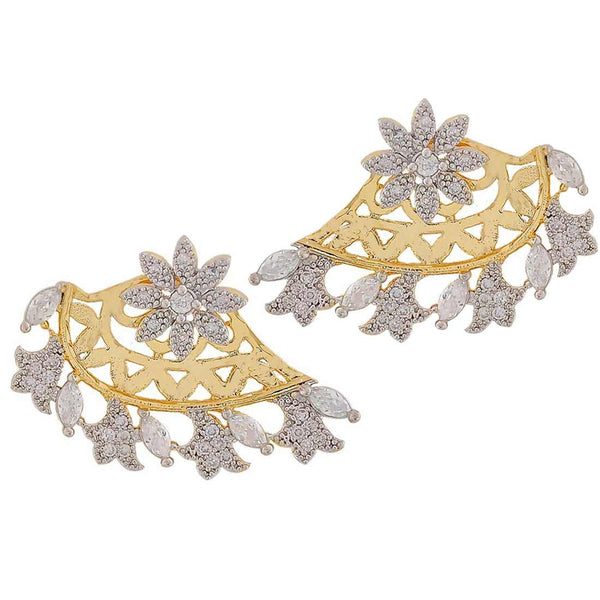 Exclusive Silver American Diamond Festival Drop Earrings - MCHUJE4JY219