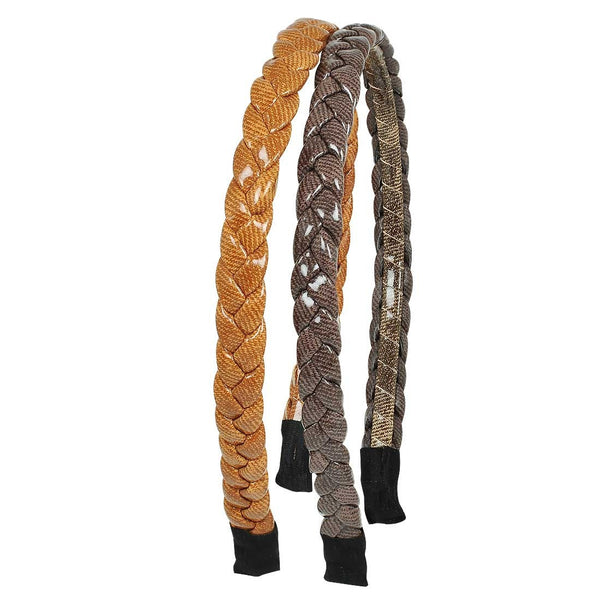 Pair of Multicolour Contemporary Home Hair Bands - MCHUJH4JY616